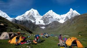 Campo Base Caruacocha Perú - Trekking - Manaslu Adventures