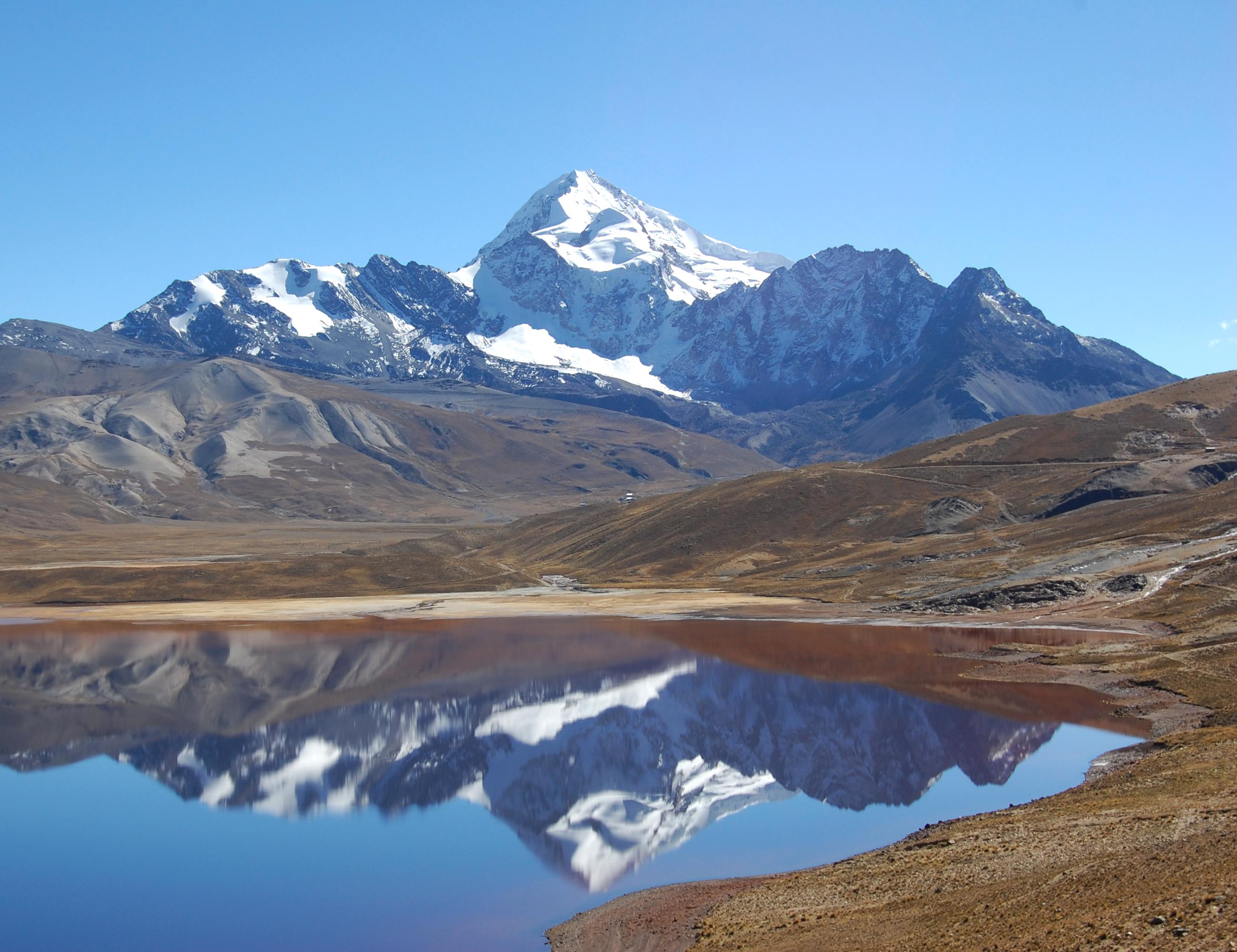 trekking - grandes cumbres bolivia - manaslu adventures