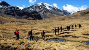 Trekking Bolivia Cordillera Real - Manaslu Adventures