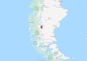 Mapa calafete patagonia