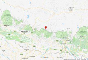Mapa Campo Base Everest