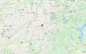 Mapa Monte Rosa