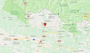 Mapa Valle de Tena