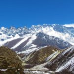 Región Everest. Cordillera del Everest 8840m