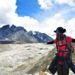 Región Everest. Glaciar Khumbu de camino a Everest Base Camp