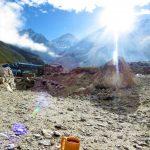 Región Everest. Gorak Shep 5140m. al lado de Everest Base Camp. último lodge del trek. Donde subimos a Kala Pathar peak 5550m