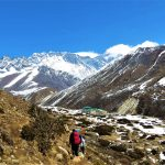 Región Everest. Vistas de Everest 8848m desde Orsho 4190m (2)