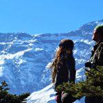 Región Everest. Vistas de Kongde 6086m desde Khumjung 3800m