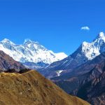 Región Everest. Vistas de izq a derecha_Nuptse 7864, Everest 8848m, Lhotse 8516m y Ama Dablam 6814m desde Khumjung 3800m (1) (1)