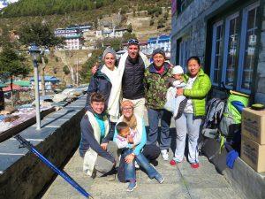 Familia Sherpa