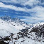Dingboche panorama Nepal