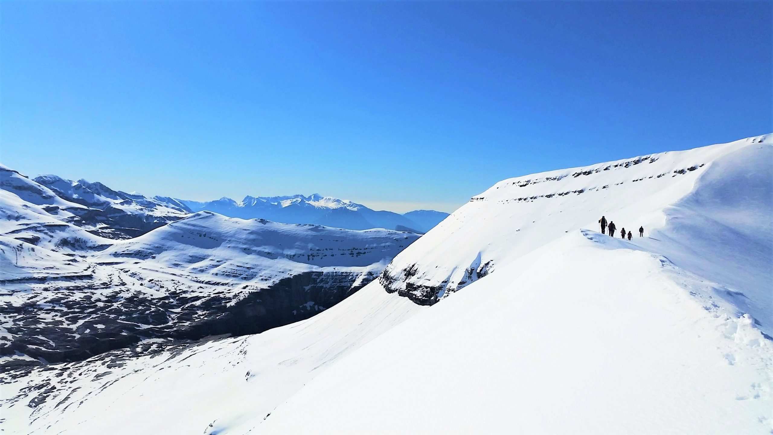 Valle de Ordesa Nevado. Alpinismo