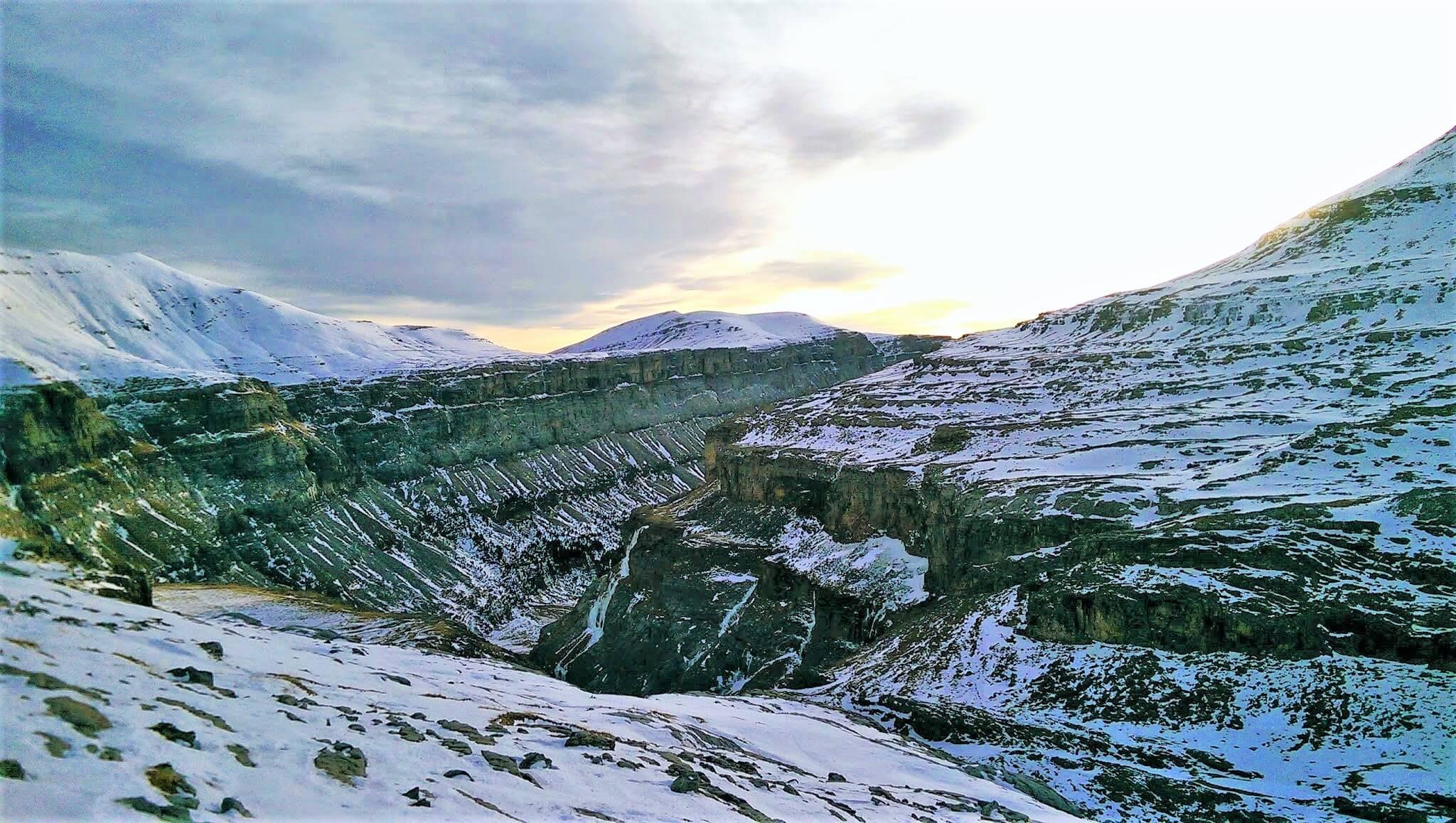 Valle de Ordesa Nevado