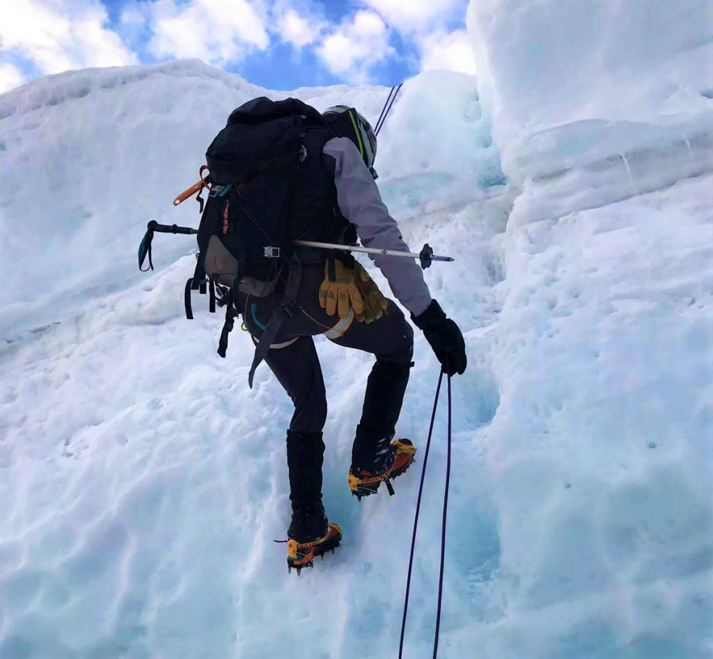 alpinismo material