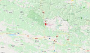 Mapa Canfranc Viaje Fotográfico Pirineos