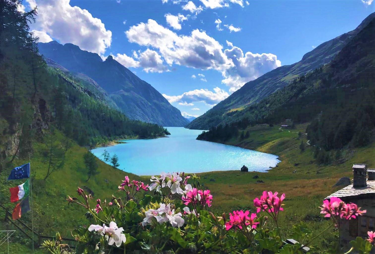 Lago de Moiry. Trekking Cervino