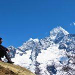Región Everest. Thamserku 6618m desde Khumjung 3800m (1)(1)