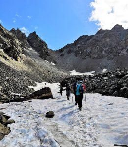 cervino trekking glaciar