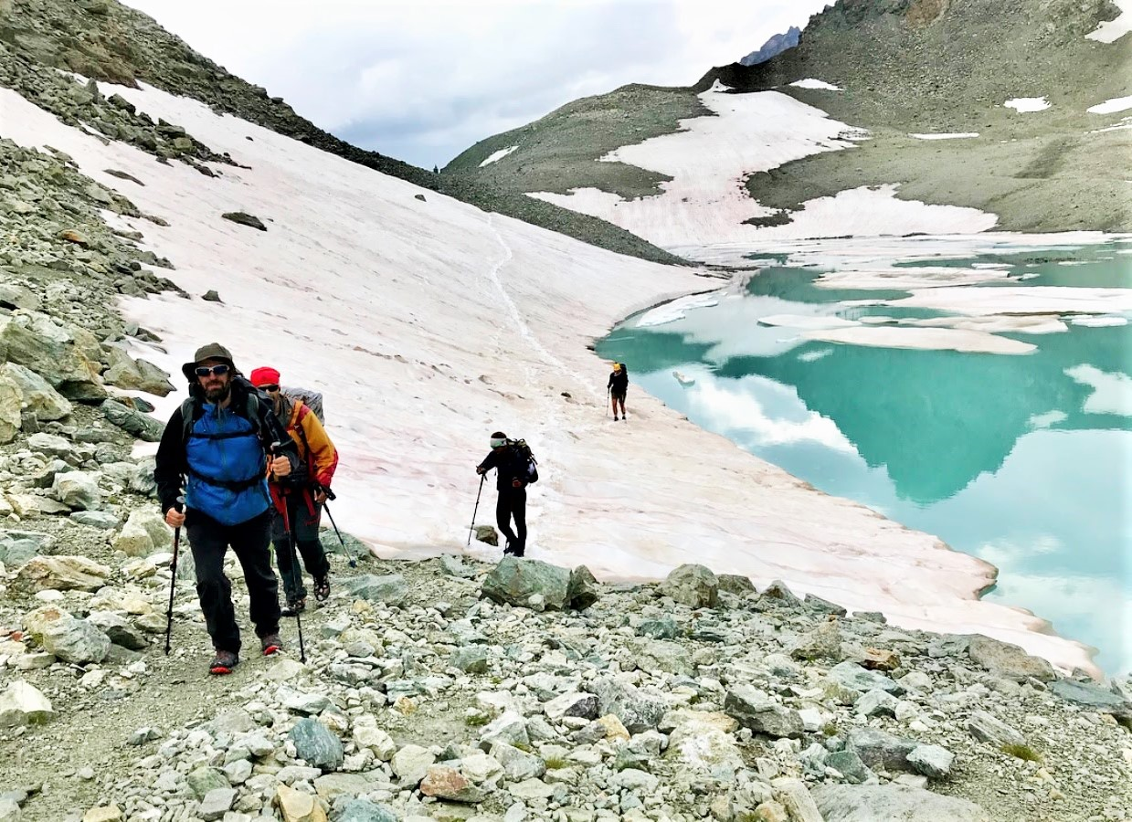 glaciar cervino