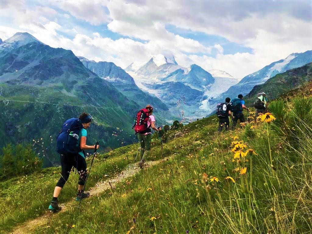 trekking tour cervino