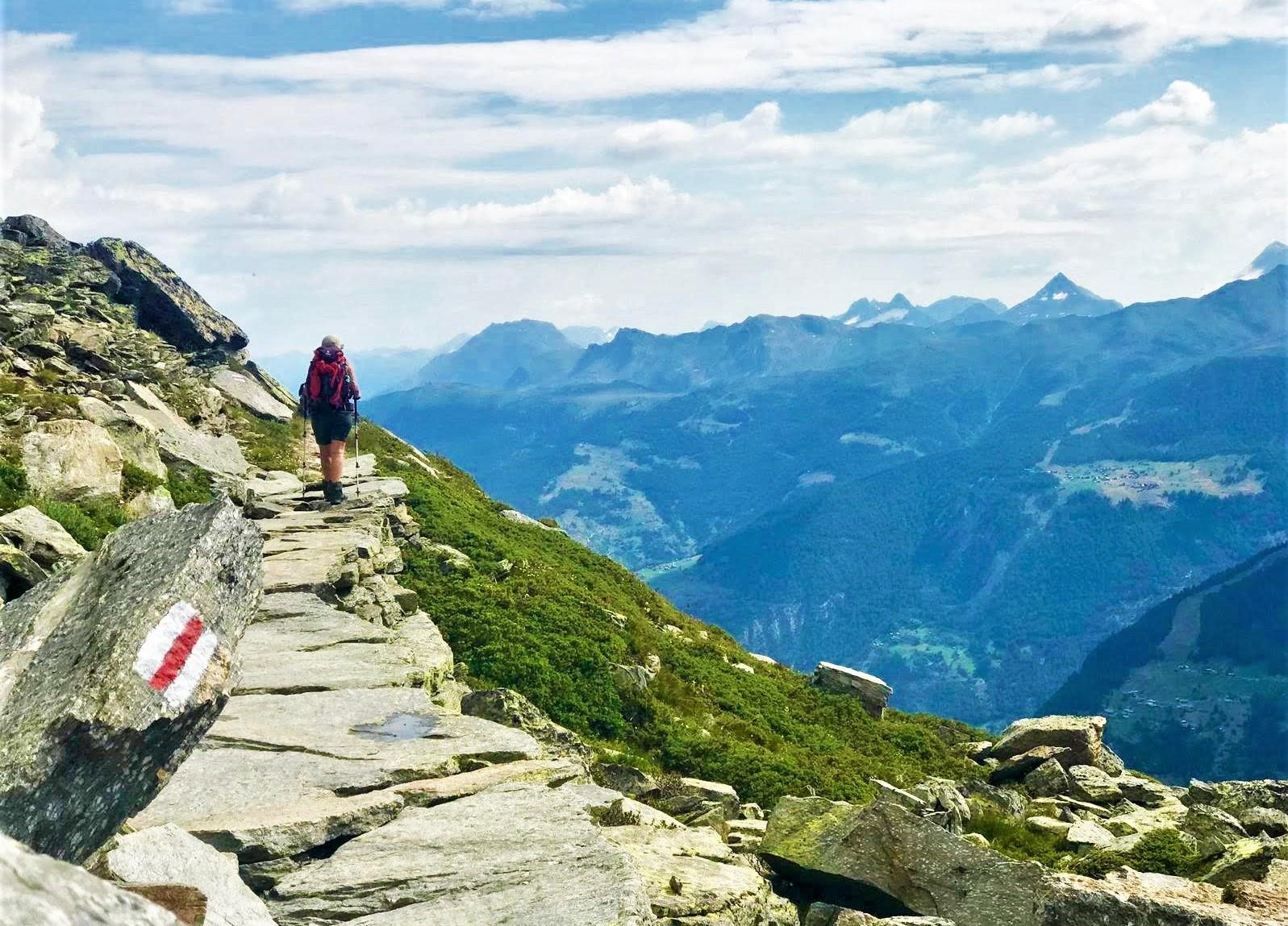 trekking tour del cervino