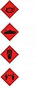 logos medidas prevención refugios