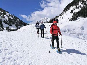 Raquetas de Nieve. Valle de Benasque
