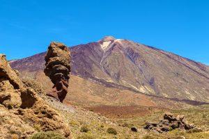 Roque Cinchado. Parque Nacional de las Cañadas del Teide